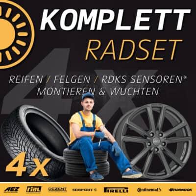Sommerräder & Reifen beim Fachhändler jetzt in Aktion 2021